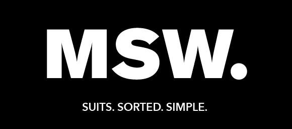 Mens Suit Warehouse logo