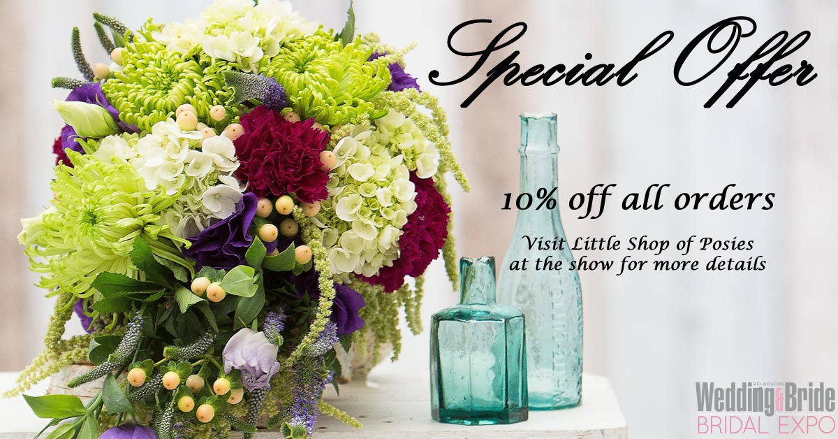 Little Shop Of Posies Bridal Expo Special