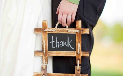 Wedding Stationery – Thank you cards
