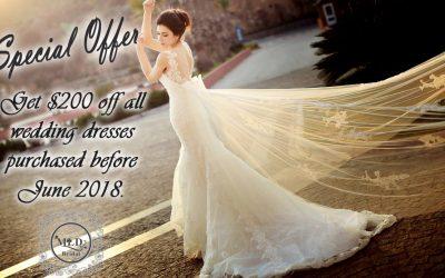 MLD Bridal Studio Special Offer