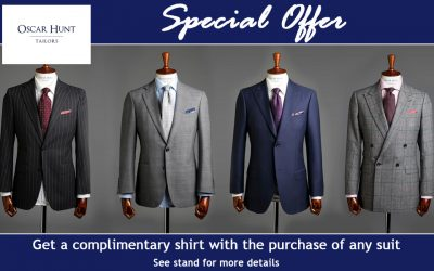 Oscar Hunt Tailors Special Offer
