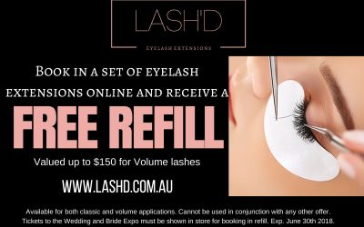 Lash'd Eyelash Extensions – Special Offer