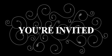 you're invited logo