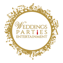 Weddings Parties Entertainment Logo