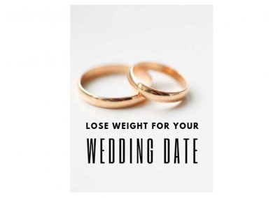 Lose Weight for Your Wedding Date