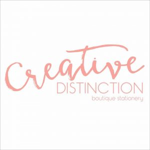 Creative Distinction Logo Event Stationery Styling Melbourne