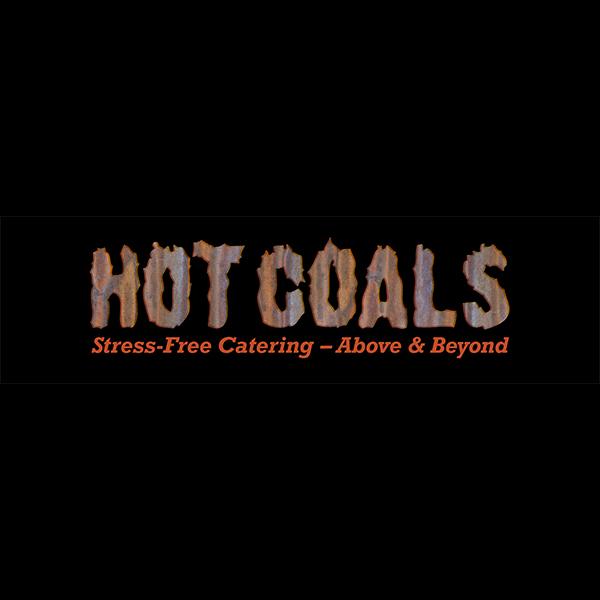 Hot Coals Catering Logo