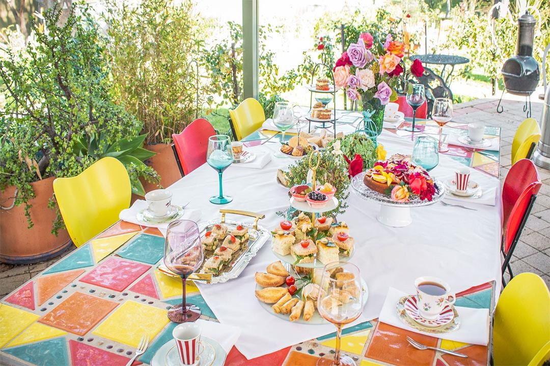 Rose Social Weddings and High Tea Table Spread